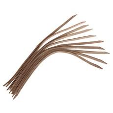 Kit Com 10 Tentos de Couro Atanado Natural Bronc-Steel 23672