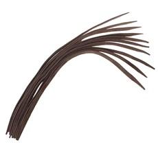 Kit Com 10 Tentos de Couro Nobuck Marrom Bronc-Steel 23670