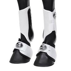 Kit de Proteção para Cavalo Boots Horse Caneleira e Cloche Branco 25854