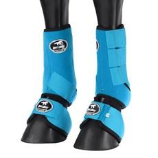 Kit de Proteção para Cavalo Splint Boot e Cloche Azul 25859