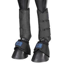 Kit de Proteção para Cavalo Splint Boot e Cloche Equitech Preto 25881