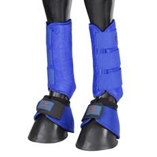 Kit de Proteção Splint Boot e Cloche Equitech Azul 25884