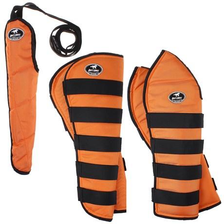 Kit Protetor de Viagem Longo Boots Horse Laranja 25865