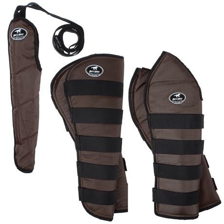 Kit Protetor de Viagem Longo Boots Horse Marrom 25862