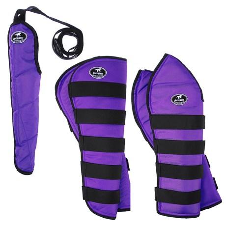 Kit Protetor de Viagem para Cavalo Boots Horse Roxo 25861