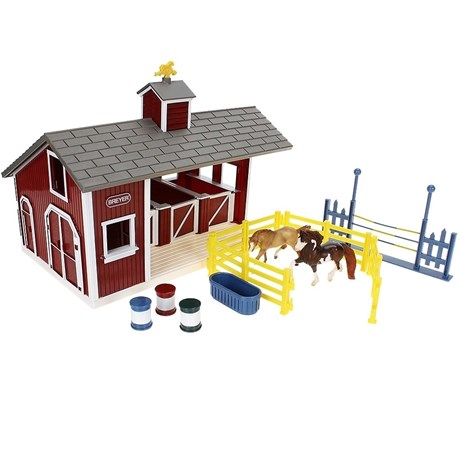 Kit Red Stable Set - Breyer 17711