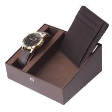 Kit Relógio Masculino Mondaine 3ATM com Porta Cartões 24976