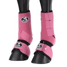 Kit Splint Boot e Cloche Boots Horse Rosa 25857