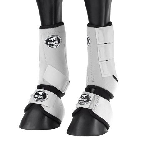 Kit Splint Boot e Cloche Branco para Cavalo Boots Horse 25860