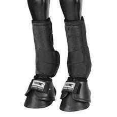 Kit Splint Boot e Cloche para Cavalo Rodeo West Preto 25886