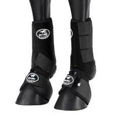 Kit Splint Boot e Cloche Preto para Cavalo Boots Horse 25858