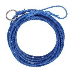 Laço 10mm Torcido Chumbado Com Tratamento Azul 10mt - American Bow 15640