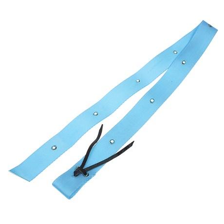 Látego de Nylon Azul com Tento de Couro M Reis 28634