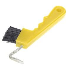 Limpador de Casco Com Escova Instep Amarelo 19930