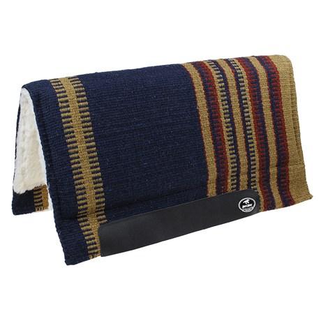 Manta Boots Horse Azul de Lã para Cavalo 26196