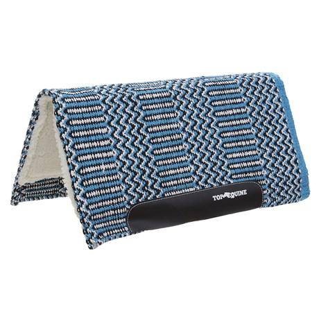 Manta de Lã Azul para Cavalo Top Equine 30067
