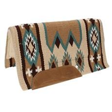 Manta Importada em Lã com Pelúcia Estampa Navajo - Mustang 14501