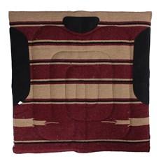 Manta Mustang Navajo Vermelho 24838