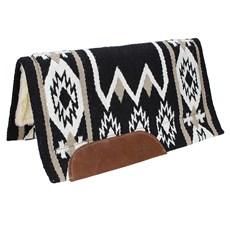 Manta Mustang Preta Wool Pad 23291