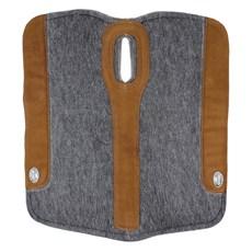 Manta para Cavalo Boots Horse Flex Feltro Cinza com Pelego 25230