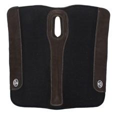 Manta Para Cavalo Flex Preta com Couro Boots Horse 27626