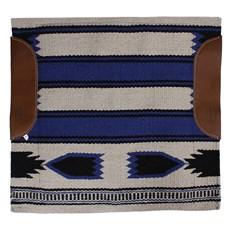 Manta para Sela Mustang Navajo Azul 24283