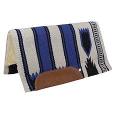 Manta para Sela Mustang Navajo Azul 24823