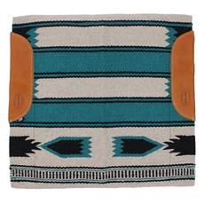 Manta para Sela Navajo Verde Mustang 28764