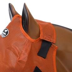 Máscara Anti Mosca Boots Horse Laranja 26538