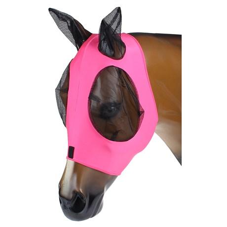 Máscara Anti Mosca para Cavalo Malha Rosa Equi-Sky 25370