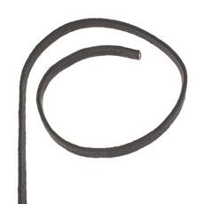 Meada de Corda Preta Chata Trançada 100% Polipropileno 15mm x 10mt - Rodeo West 28366
