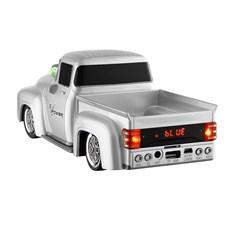 Mini Caixa de Som MP3 Carro Branco Bluetooth Rádio FM USB TF Speaker 28834