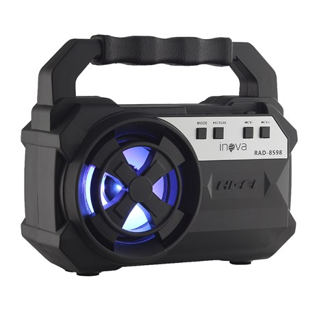 Mini Caixa de Som USB Rádio FM TF Inova 28576