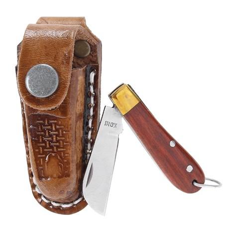 Mini Canivete Inox com Bainha Chaveirinho Rodeo West 19814