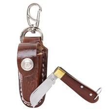 Mini Canivete Inox com Bainha Chaveirinho Rodeo West 23604