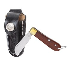 Mini Canivete Inox com Bainha Preta Rodeo West 23602