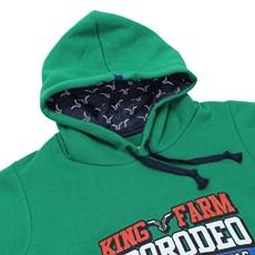 Moletom King Farm Masculino Verde 23060
