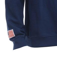 Moletom Masculino Azul Marinho Gola Careca TXC 28857