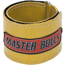 Munhequeira Master Bulls Amarela Fabricada em Couro - 19213