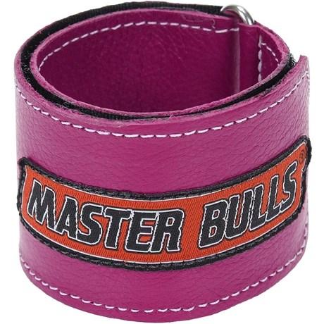 Munhequeira Master Bulls Rosa Fabricada em Couro - 19211