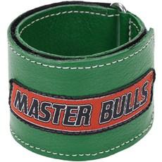Munhequeira Master Bulls Verde Fabricada em Couro - 19209