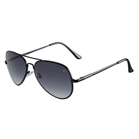 Óculos de Sol Aviador Preto Twisted Wire 29939