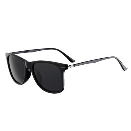Óculos de Sol Escuro Preto Polarizado Cow Way 25296