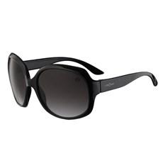 Óculos de Sol Feminino Redondo Grande Preto Cow Way 25309