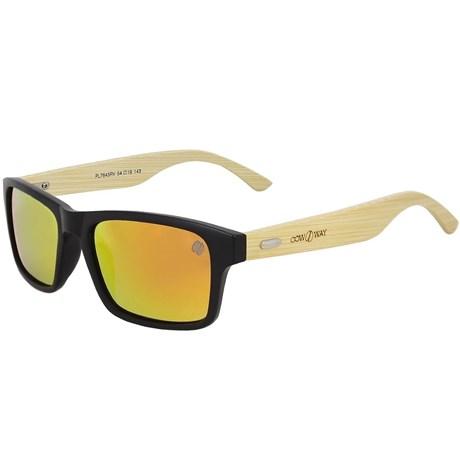 Óculos de Sol Lente Colorida Cow Way Laranja 19502 - Rodeo West b4e86033ef0