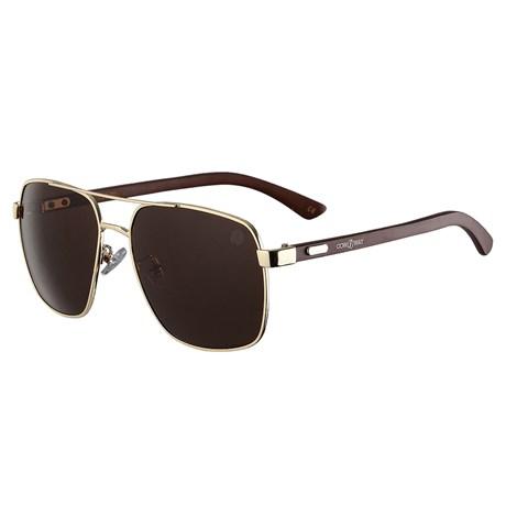 Óculos de Sol Lente Marrom Cow Way 25312