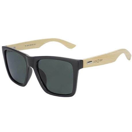 Óculos de Sol Preto Cow Way Bambú 22241
