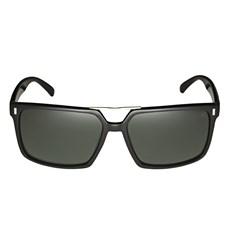 Óculos de Sol Quadrado Preto Twisted Wire 29946