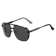 Óculos de Sol Quadrado Preto Twisted Wire 29947