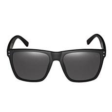 Óculos de Sol Quadrado Preto Twisted Wire 29959